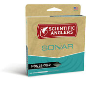 NEW SCIENTIFIC ANGLERS SONAR SINK 25 COLD 150GR 5/6WT fly fishing sinking head