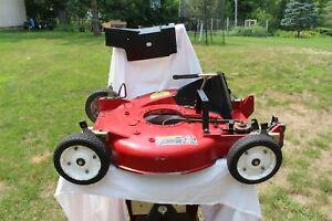 "Toro Commercial 21"" ZONE START PROLINE vintage Mower Deck/Transmission/Wheels"