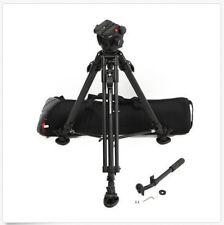 Manfrotto-503HDV-Pro-Tripod-System-w-351MVB2-Tripod-Legs-Spreader-amp-Cas