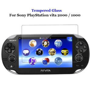 For Sony PSV 1000 PS Vita 2000 Accessories Tempered Glass Screen Protector Film