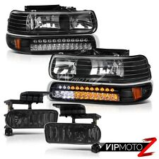 00-06 Suburban Tahoe 99-02 Silverado L.E.D Headlights Signal Parking Fog Lights