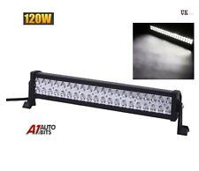 "22"" 120W LED Spot Work Light Roof Bar SUV Front Rear Lamp Waterproof 12v 24v"