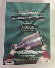 1992-93 Parkhurst Stanley Cup Update Set Factory Sealed Master Box