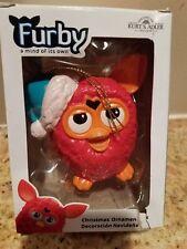 Red Santa Hat Furby Holiday Christmas Ornament New in Box Kurt Adler 2013