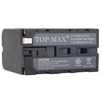 Battery 6900mAh for Sony NP-F970 NP-F570 HVR-Z1E HVR-V1E DSR-PD170P