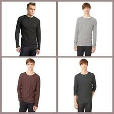 Cotton Blend Long Sleeve Regular S Casual Shirts for Men
