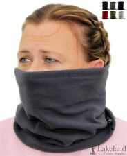 Adult Mens / Ladies Fleece Snood   Neck Warmer, Neck Gaiter, Face Covering