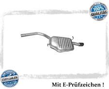 Endschalldämpfer Audi A4 (B6, B7) 1.6 Stufenheck, Avant Auspuff Endtopf Chrom