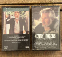 Kenny Rogers Cassette Lot of 2 - What About Me? Share Your Love - Cassette Album