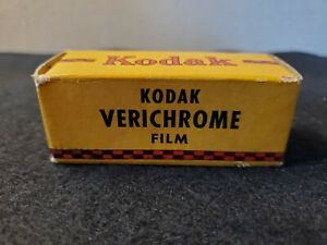 Vintage 1940s Kodak Film Verichrome V 120 Sealed 1947
