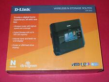 D-Link DIR - 685 Xtreme N Storage 4-Port 1000 Mbps Funk Router DIR-685