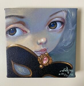 """Jasmine Becket-Griffith """"Faces of Faery 122"""" First Edition #01/25"""
