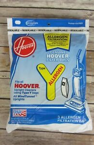 Hoover Vacuum Bags Type Y Windtunnel Upright Microlined Bag- 7 bags x 3 per bag