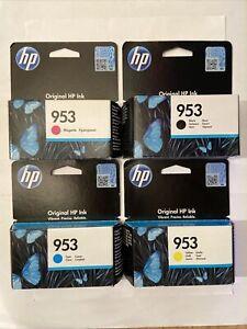 Genuine Original HP 953 4-Pack Multipack Printer Ink Cartridges VAT.Inc 2022