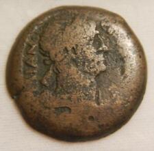 Ancient Roman Empire c.102 AD Sestertius of Trajan AG