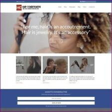 HAIR CARE Website Business For Sale - Upto £79.92 Commission A Sale Dropshipping