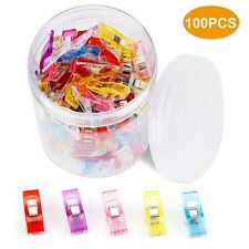 50//100PCS Pack Clover Clips for Crafts Quilting Sewing Knitting Crochet Yj,