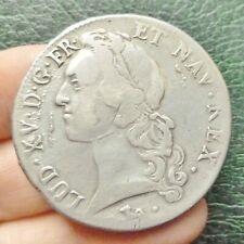 Louis XV  - Ecu aux Bandeau - 1744 L  Bayonne