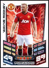 Wayne Rooney Man. Utd #144 Topps Match Attax Football 2012-13 Trade Card (C440)