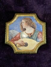 Hand Painted Franklin Mint Angels of the Vatican Museum Music Box Js Bach Jesus