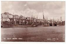 More details for the docks milford haven - boats laid up owing to coal strike march 1919