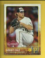 Gerrit Cole 2015 Topps Update Series All Star Game Card Houston Astros Yankees