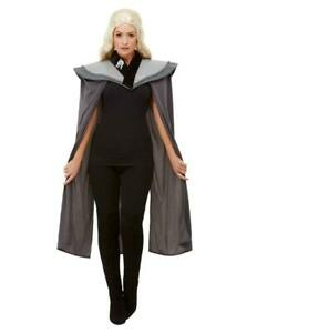 Adult Ladies Medieval Cape Cloak Game of Thrones Style Fancy Dress Party Costume
