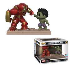 Avengers 2 Ultron Hulk VS Hulkbuster Movie Moments NYCC 2018 Pop Vinyl Figures