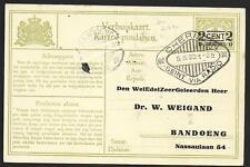 Netherlands Indies covers 1930 Kartoe Pindahan Cheribon Seint Via Radio