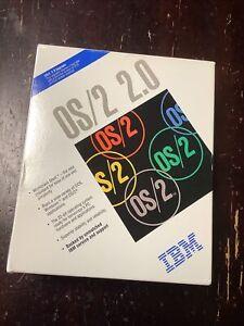Vintage 1992 IBM Upgrade OS/2 2.0 DOS Windows 32 Bit OS 3.5 Computer Diskettes