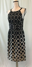 NWT WHBM White House Black Market Dress Size 6 100% Silk NEW WITH TAG