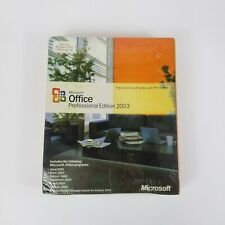 New & Factory Sealed - Microsoft Office 2003 Professional, Full Retail Version