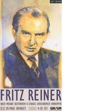 BACH MOZART BEETHOVEN STRAUSS SHOSTAKOVICH HINDEMITH: Fritz Reiner 4CD-BOX Neu