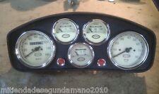 WHITE FIAT ABARTH DASHBOARD TABLERO CONTACHILOMETRI STRUMENTAZIONE
