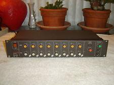Tascam M-1B, 8 Channel Line Mixer, Vintage Rack