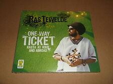 "RAS TEWELDE "" ONE WAY TICKET "" RASTA AT HOME AND ABROAD DIGIPAK CD ALBUM NEW"