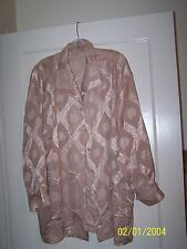 Beautiful Womens Blouse Size ? I will measure anything to answer  Handmade