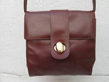 AUTHENTIQUE sac à main  CERRUTI 1881  cuir TBEG vintage bag