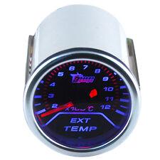 Auto Abgastemperaturanzeige EGT 0-1200℃ Anzeige Gauge KFZ Zusatz Instrument WYS