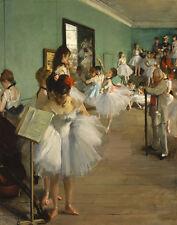 Degas Edgar The Dance Class Print 11 x 14   #4899
