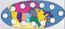 Uni-safe Canada 1992 Confederation 25¢ Coin Board $3.99 (HLRC92)