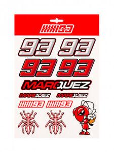 Official Marc Marquez Large Sticker Set - 19 53006