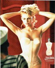 Publicité Advertising 089  2002  Jean Paul Gaultier parfum Classique N. Kidman