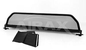AIRAX Windschott Schnellverschluss Peugeot 207 CC Bj. 2007-2015 + Tasche