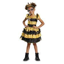 NEW in BAG LOL Surprise Doll QUEEN BEE Deluxe Halloween Costume Child LG 4 - 6X