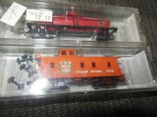 Micro Trains Line MTL Canadian National Tank Car and Caboose N Scale