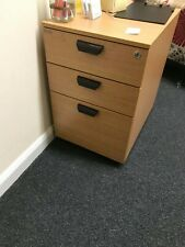 Quality Office 3 Drawer Pedestal Lateral Filing Cabinet