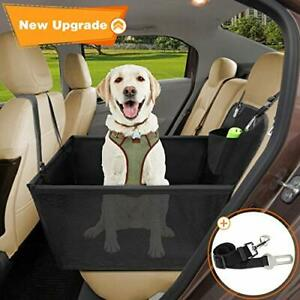 Wimypet Dog Car Seat Cover Breathable Rear Car Booster Protector for
