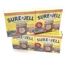 Sure Jell 100% Natural Premium Fruit Pectin, 4 - 1.75 oz. Packages Exp 06/2023
