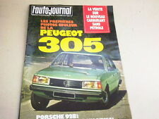 L AUTO JOURNAL - N° 18  - 15 NOVEMBRE 1977  *